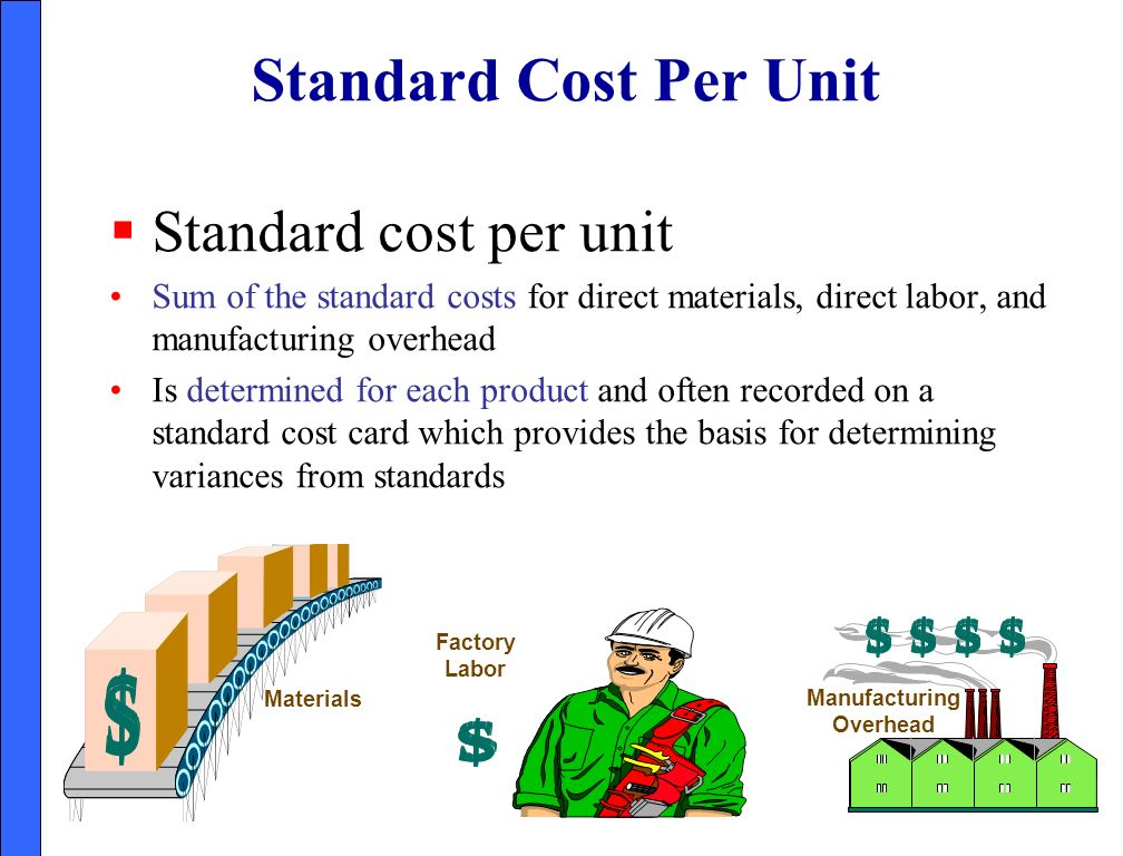 Performance Evaluation Through Standard Costs - ppt video