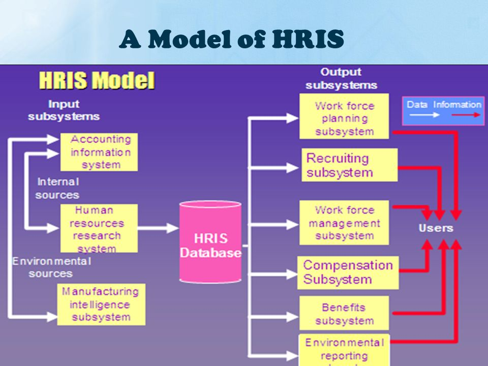 needs of the human resource information systems Advanced level human resources information system management specialists also identify the training needs of all system users and makes sure to tailor the training to meet their needs recently added latest articles in mos information.