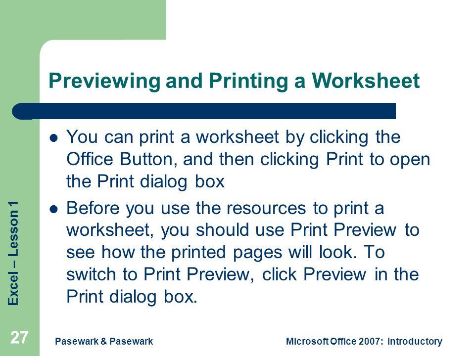 Excel Lesson 1 Excel Basics - ppt download