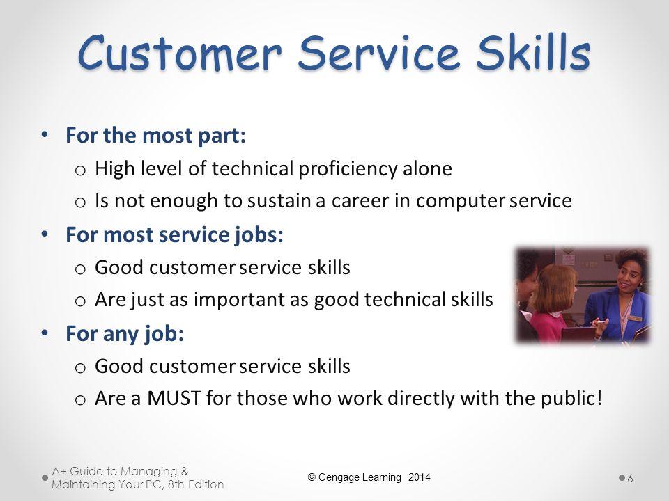 technical skills for customer service