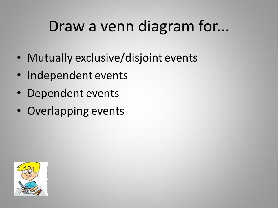 Independent Dependent Disjoint Venn Diagram Trusted Wiring Diagrams
