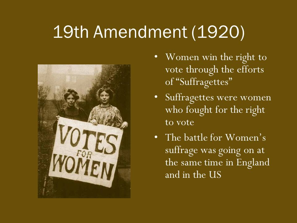 Image result for women in the u.s. get the right to vote