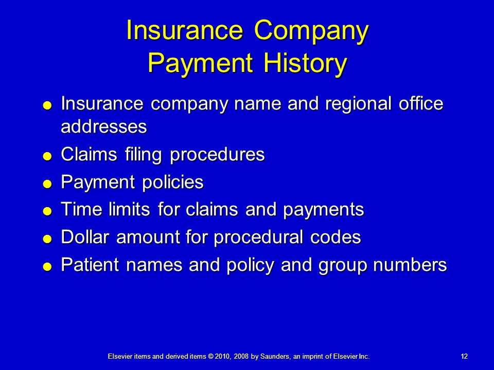 Ny Insurance Codes >> Receiving Payments And Insurance Problem Solving Ppt Video Online