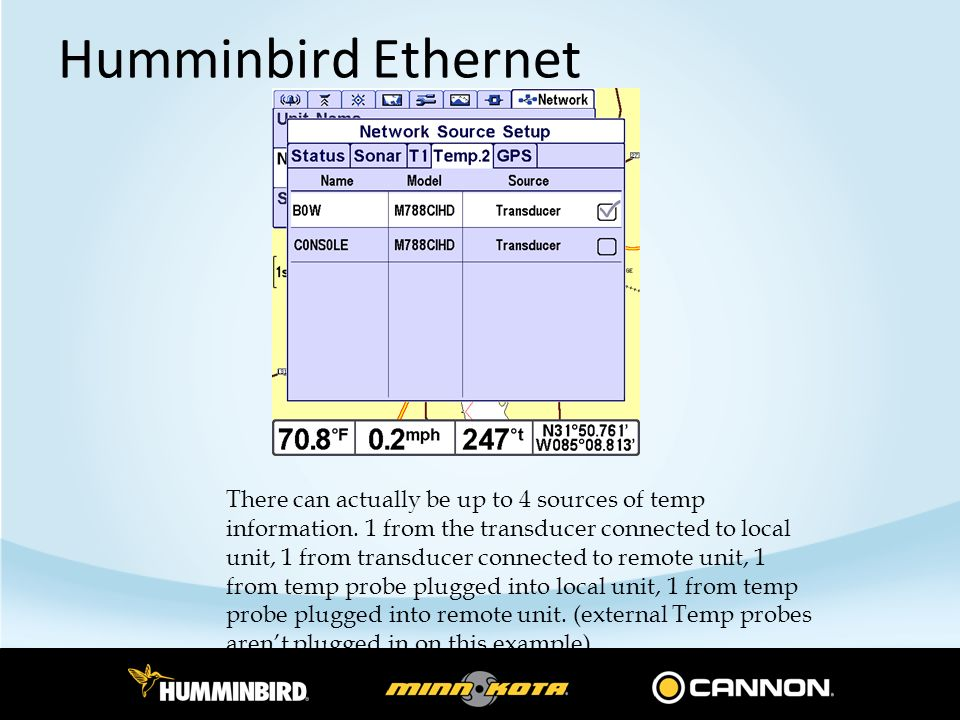 Humminbird Ethernet Overview - ppt download
