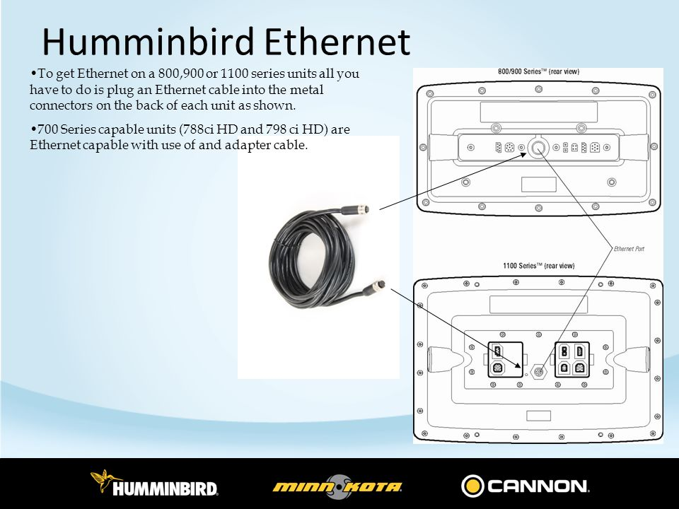 humminbird ethernet overview ppt download