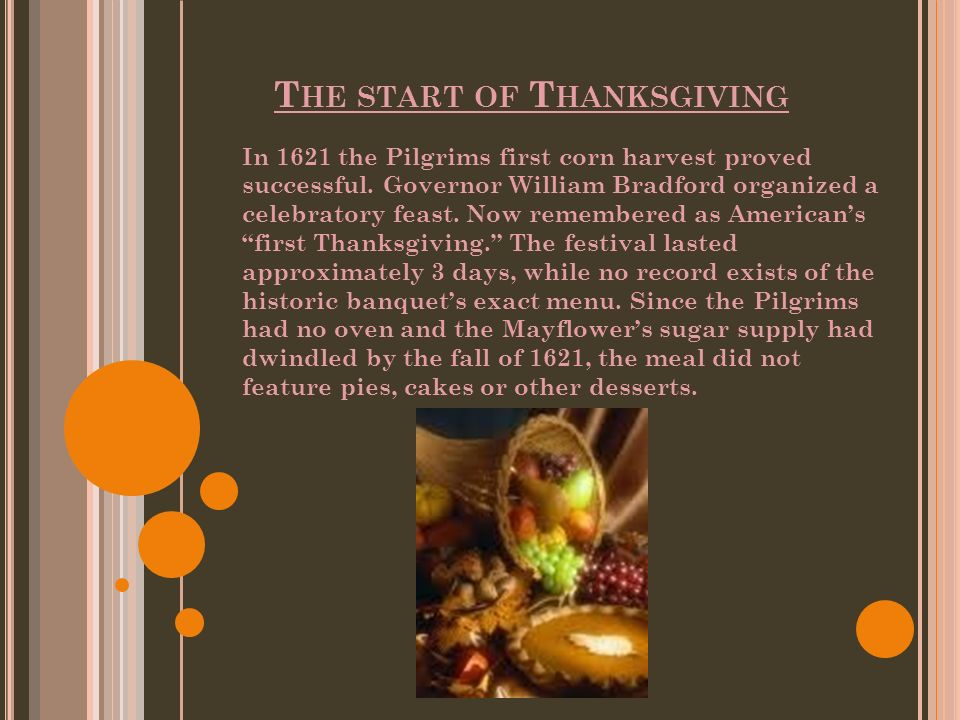 Thanksgiving HISTORY  - ppt video online download