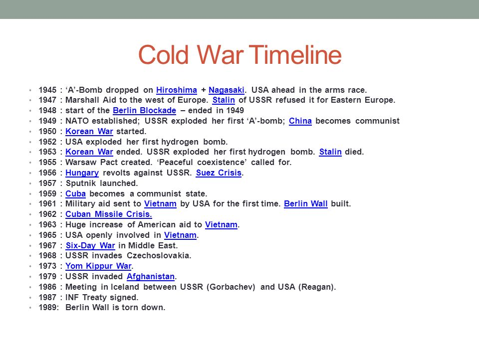 cold war definition and timeline historycom history - 736×552