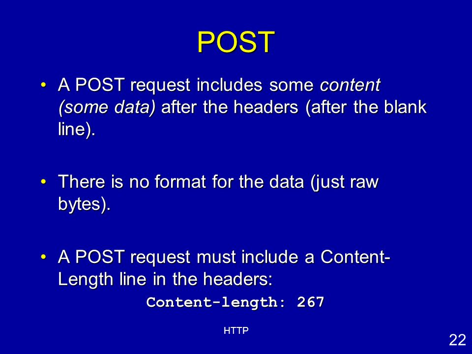 HTTP Hypertext Transfer Protocol - ppt download