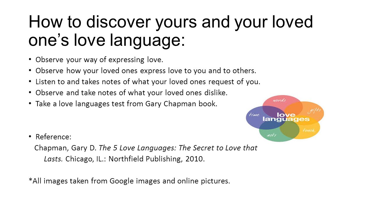 the 5 love languages test online