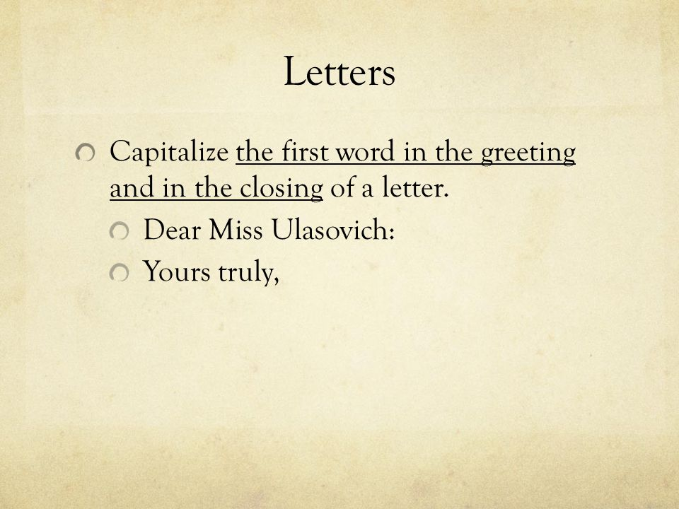 Chapter 10 capitalization ppt download 15 letters capitalize m4hsunfo