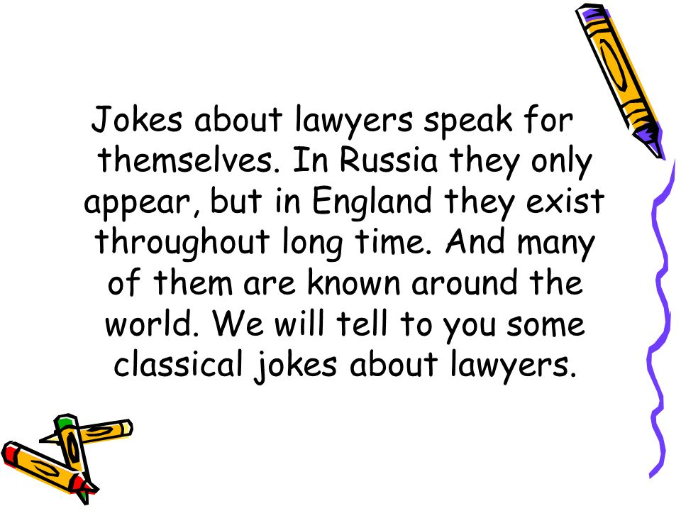 LAWYER JOKES  - ppt download