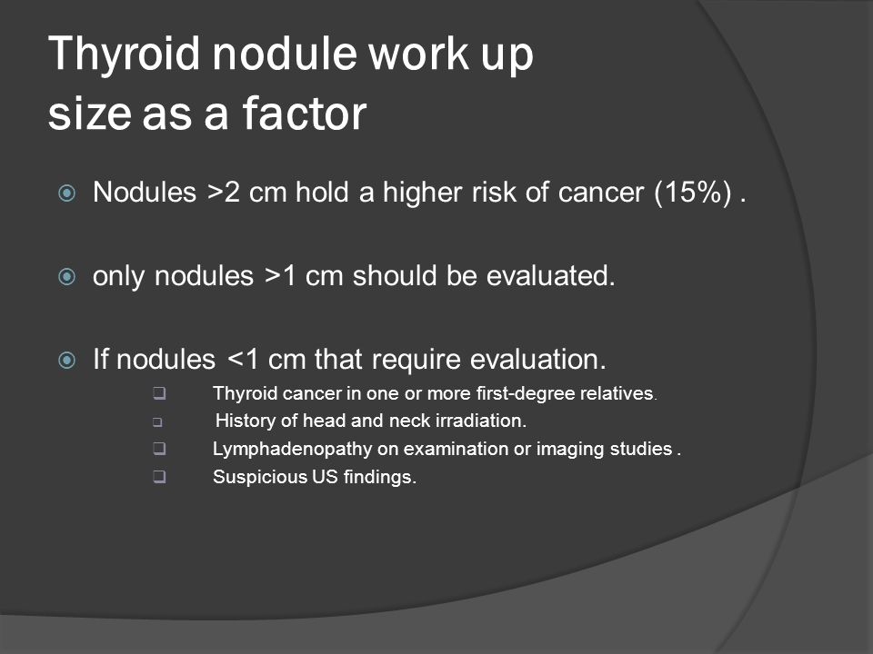Management Of Thyroid Nodule Ppt Video Online Download