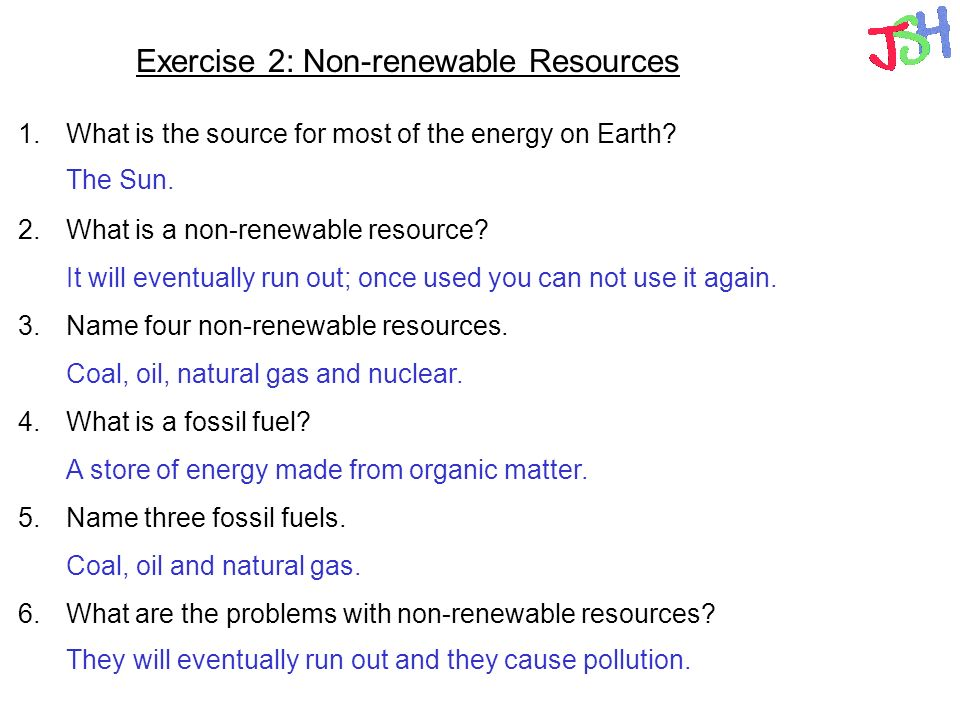 Energy Resources Energy Chains Renewable Energy Non