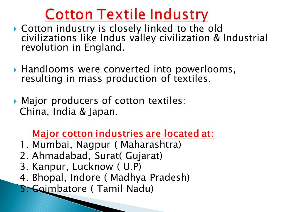 MANUFACTURING INDUSTRIES - ppt video online download