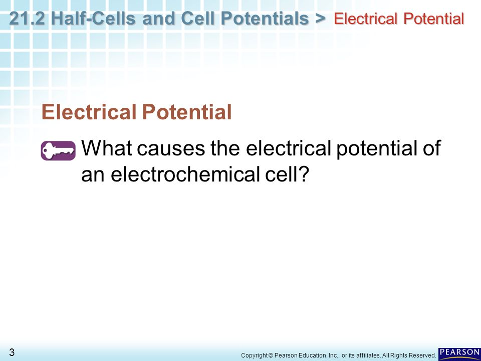 Chapter 21 Electrochemistry 21 2 Half-Cells and Cell
