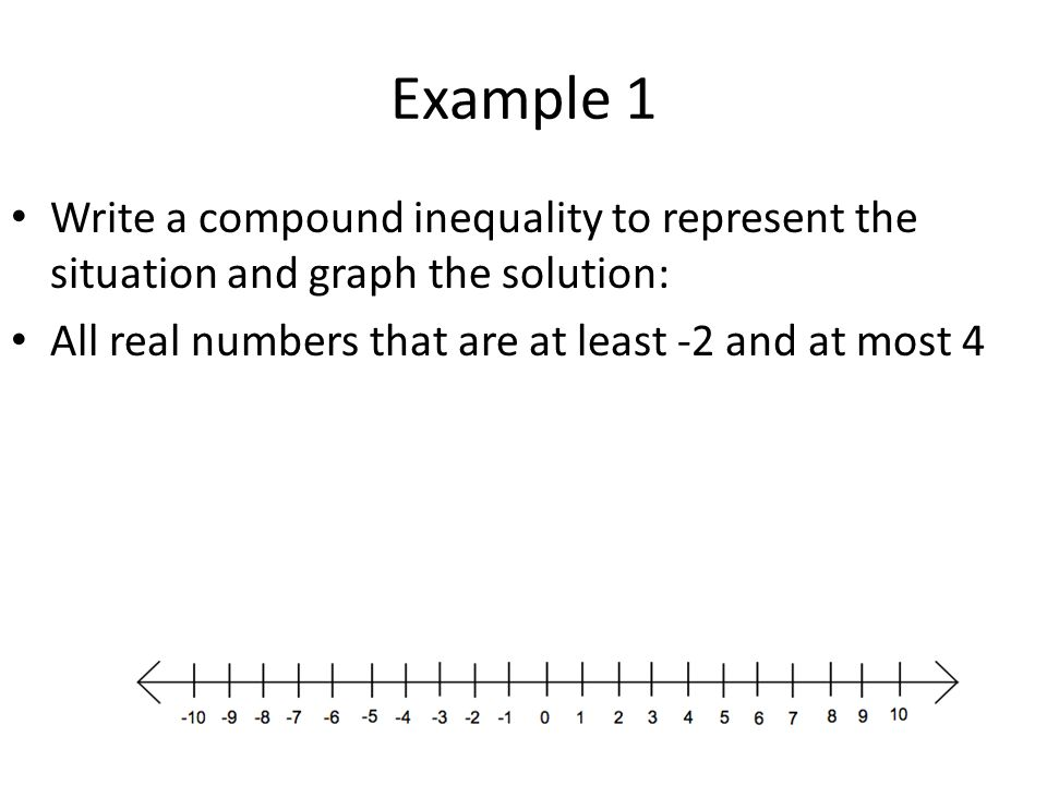 writing an inequality for a real-world situation calculator
