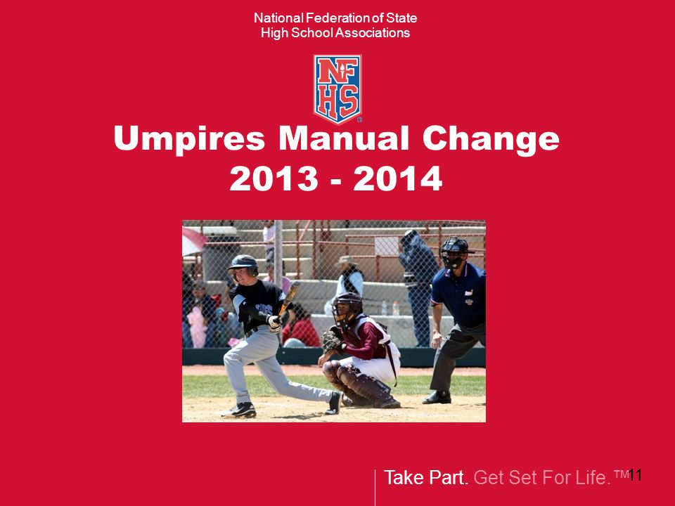 welcome coaches umpires ppt download rh slideplayer com nfhs softball umpires manual nfhs baseball umpires manual