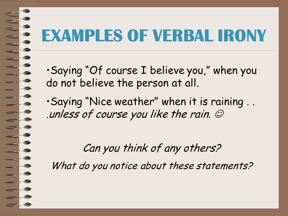 Isnt It Ironic A Lesson On Irony Ppt Download