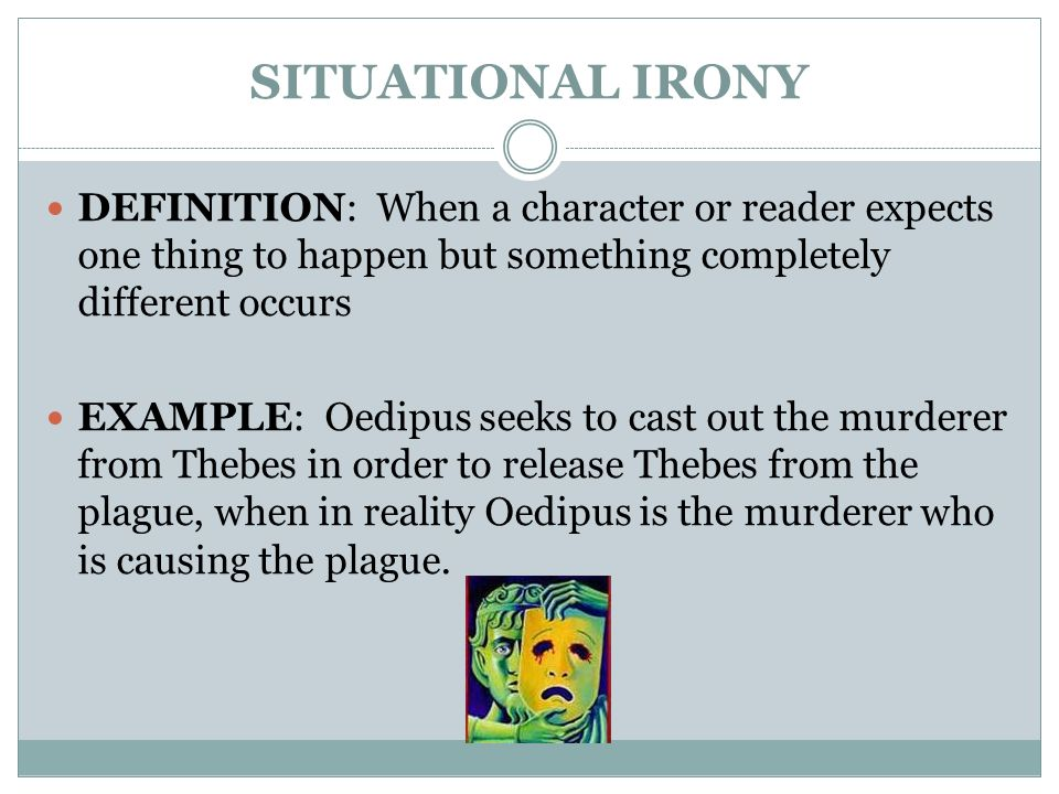 Three Types Of Irony Literary Devices Ppt Video Online Download