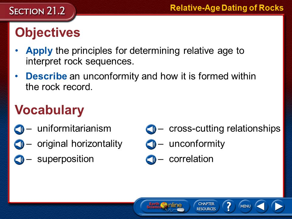 chapter 21 section 21.2 relative age dating of rocks marriage not dating eng sub dailymotion