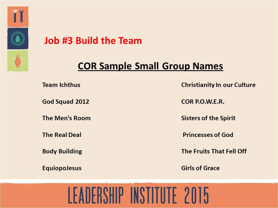 Leading Student Small Groups - ppt video online download