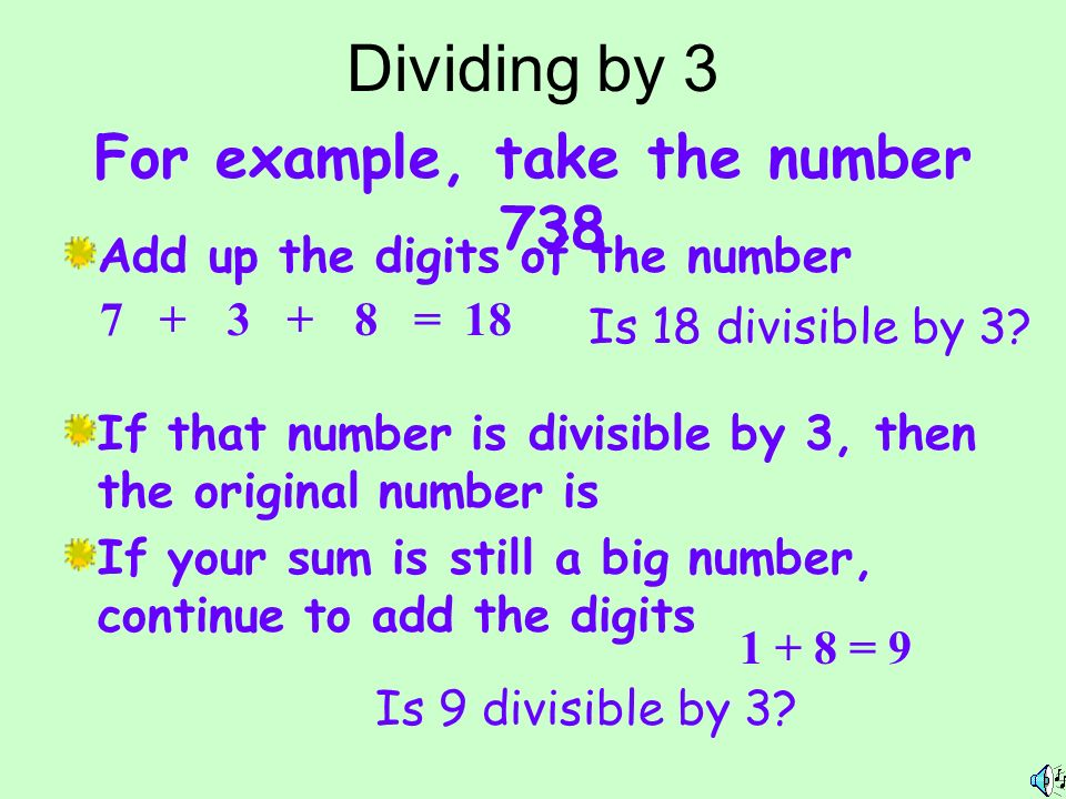 what is 18 divisible by