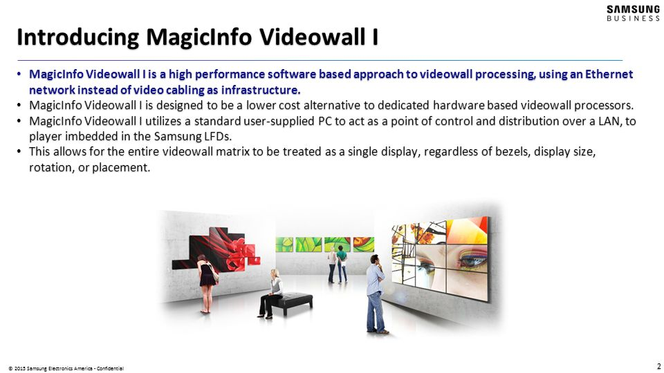 Introducing MagicInfo Videowall I - ppt video online download