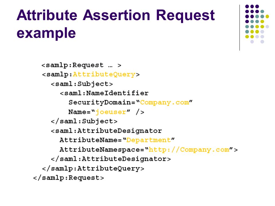 An XML based Security Assertion Markup Language - ppt video
