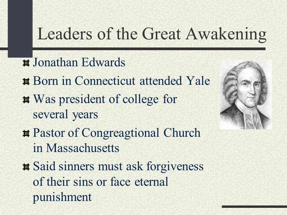 The Great Awakening Chapter 5, Section ppt video online download