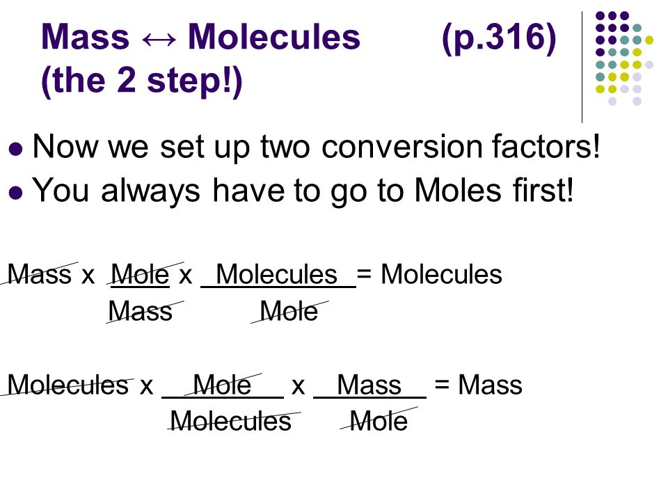 Using molar mass to convert g to mol, and vice versa youtube.