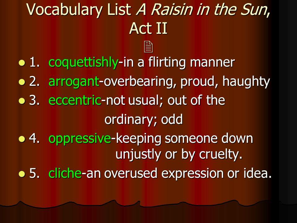 a raisin in the sun plot summary
