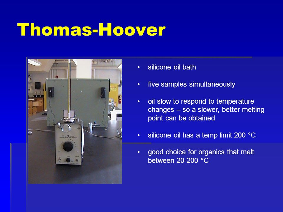 thomas hoover melting point apparatus