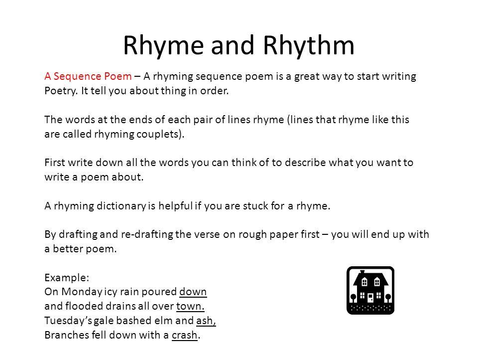 Writing Poetry Rhyme And Rhythm Metaphors And Similes Limericks