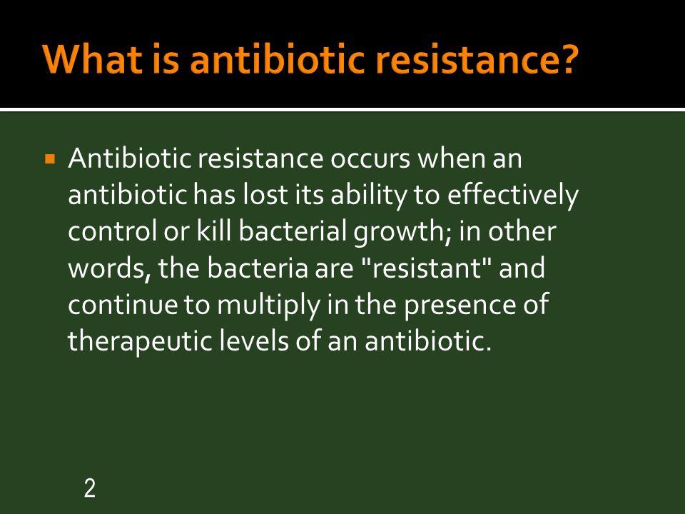 Ppt antibiotics and antibiotic resistance powerpoint.