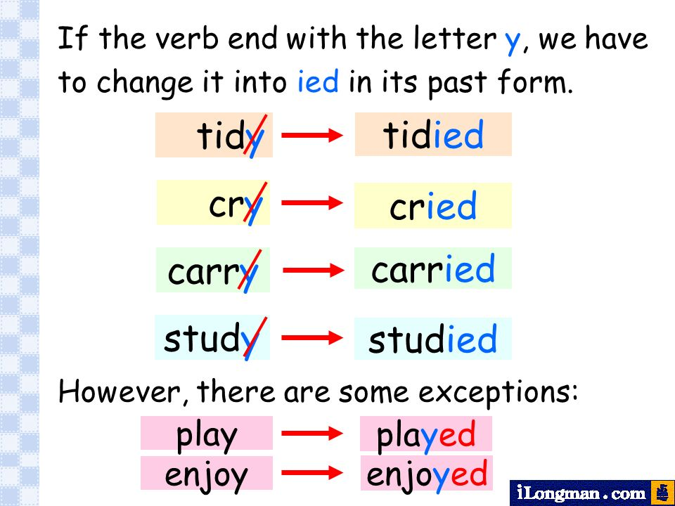 past tense of cry