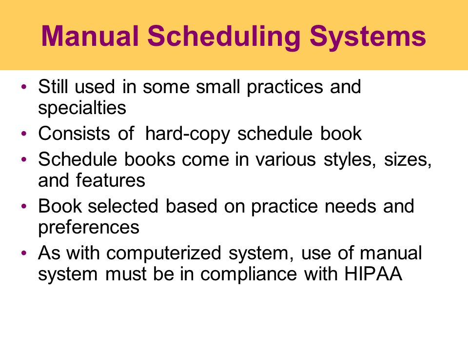computerized scheduling system essay Computerized inventory system - essay example background of the study technology advances as it changes through the times however, despite this advancement in technology, ding-dong hardware in gala, agrarians province still uses the manual process in their inventory.