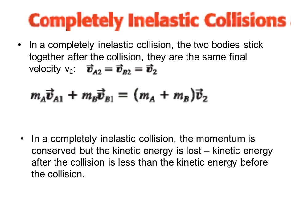 Inelastic Collision Kinetic Energy Energy Etfs