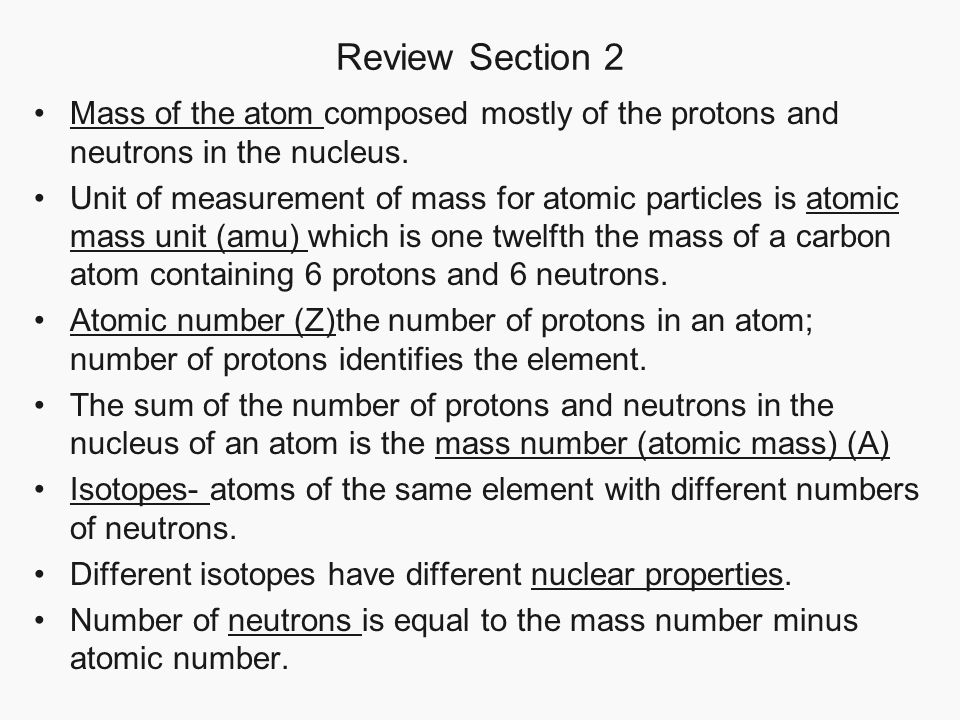 Chapter 17 properties of atoms and the periodic table section 3 review section 2 mass of the atom composed mostly of the protons and neutrons in the urtaz Image collections
