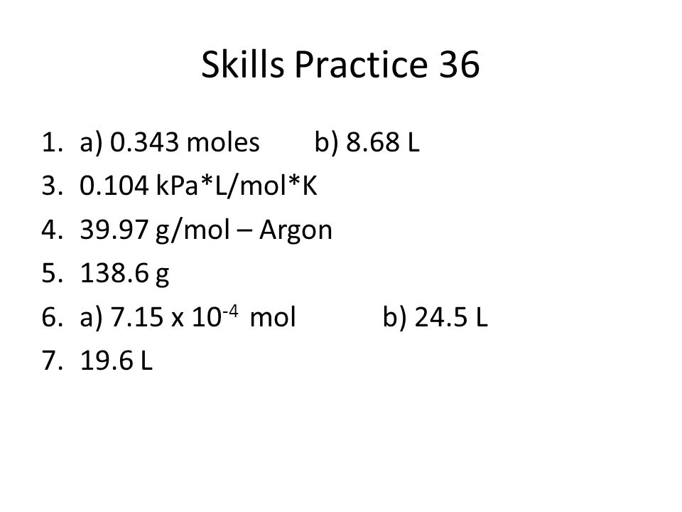 Skills Practice Answers Ppt Video Online Download