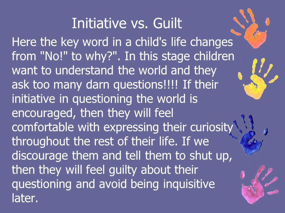initiative vs guilt example