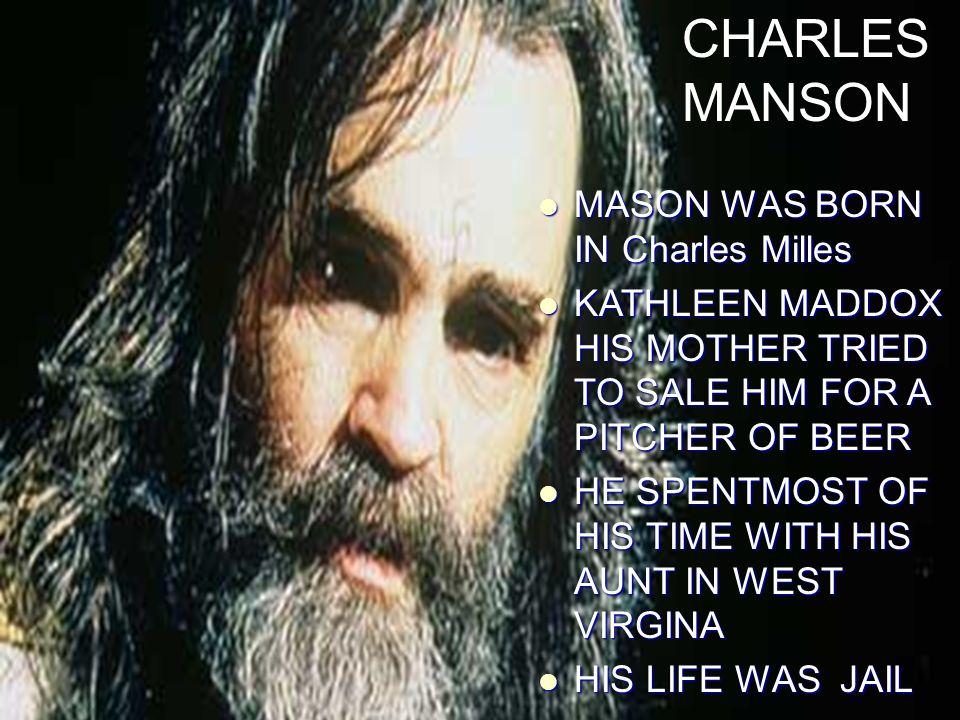 CHARLES MANSON A K A HELTER SKELTER  - ppt download
