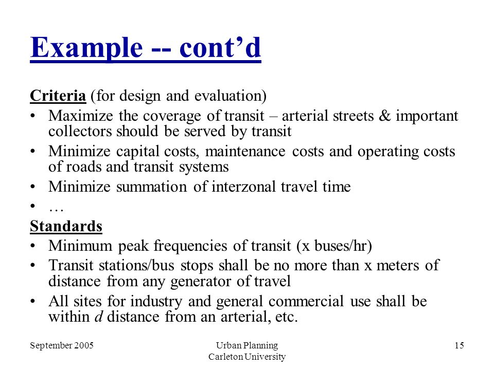 Planning Urban System and Components - ppt video online download