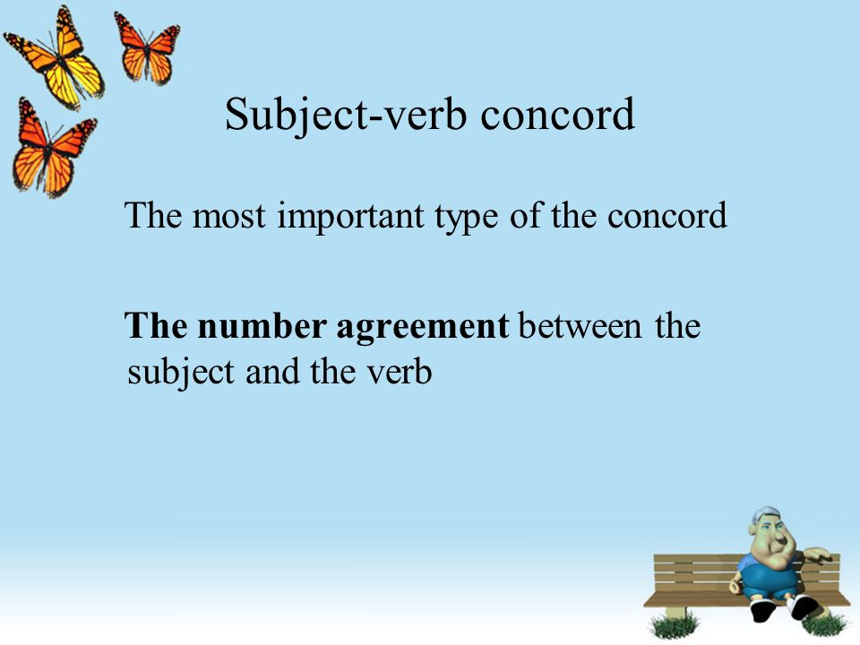 Lecture 2 Subject Verb Concord Ppt Download