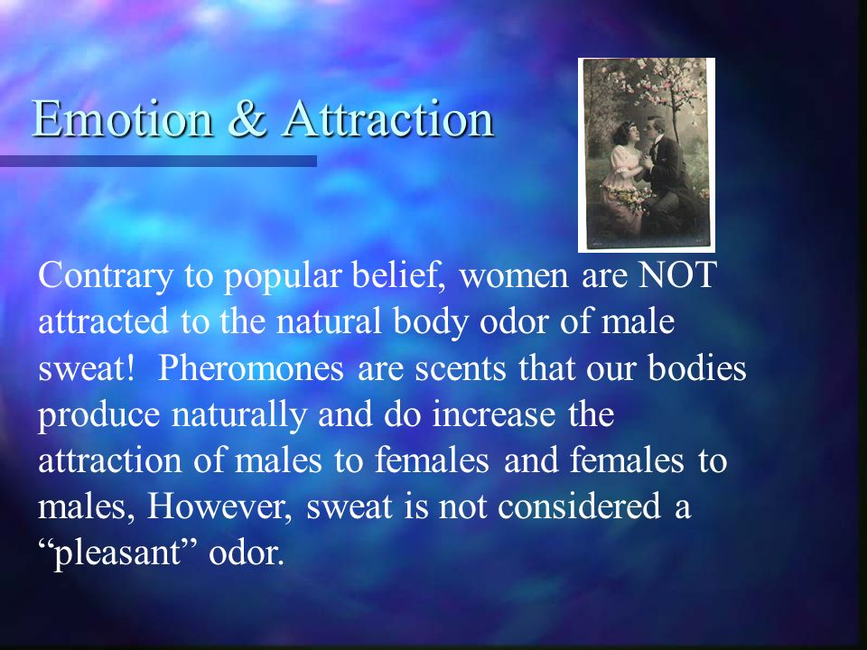 natural body odor attraction