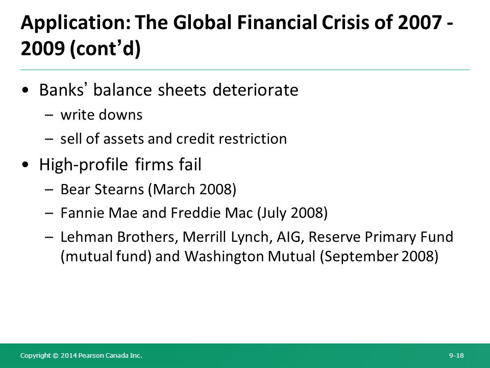 the global financial crisis of 2008 2009 Видео: lecture: causes of the 2008-2009 financial crisis this course covers in depth topics regarding the global financial crisis of 2008-2009 the collapse of the global financial system led to a severe downtown of global economies.