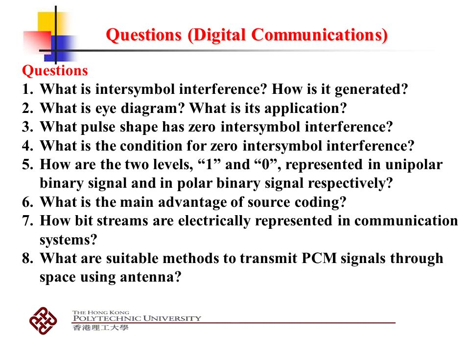 Digital communications ppt video online download 45 questions digital communications ccuart Gallery