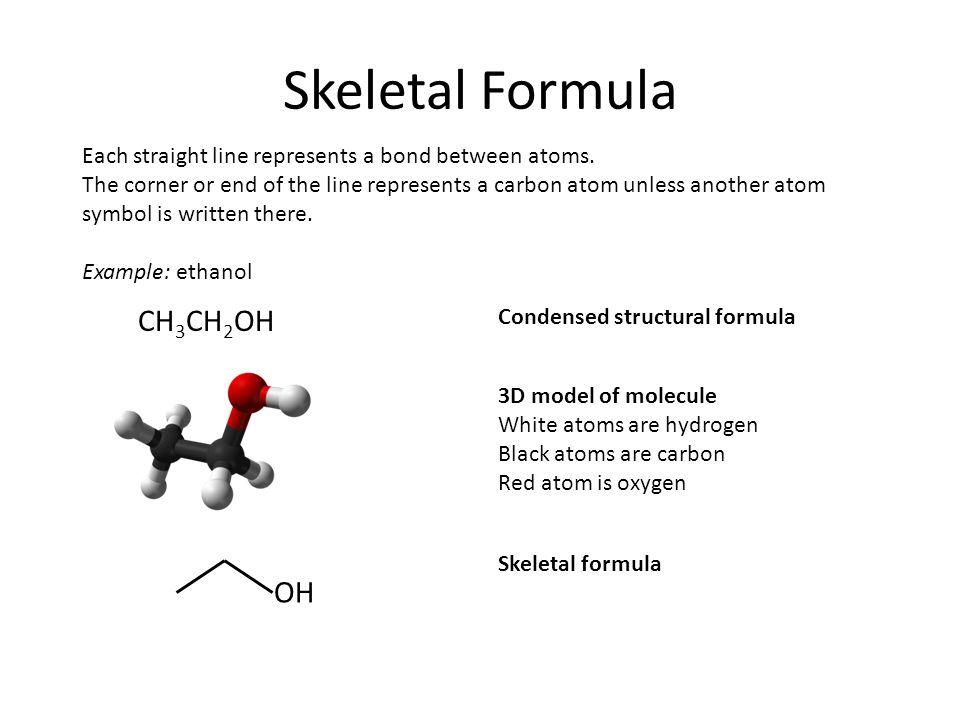 Skeletal Formula CH3CH2CH2CH2CH2CH3 - ppt video online download