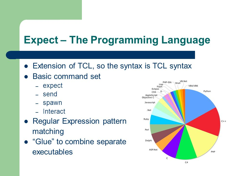 tcl expect tutorial