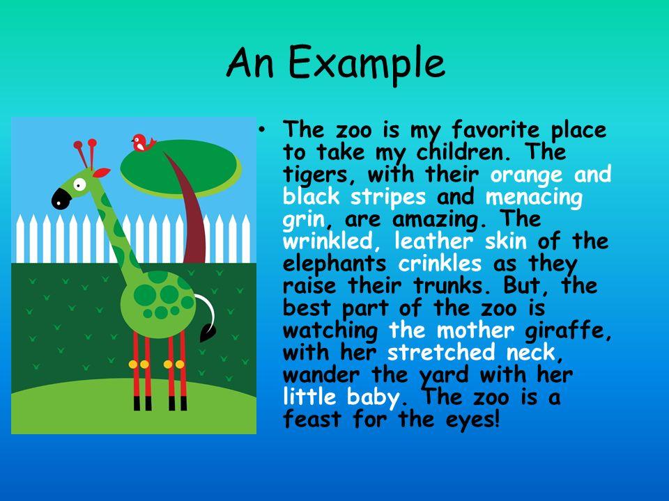 Examples of descriptive paragraphs for children