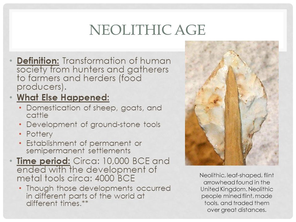 Neolithic age and first civilizations - ppt video online
